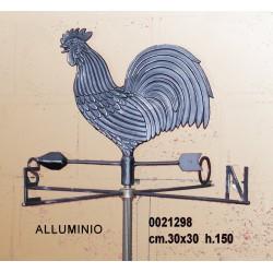 Segnavento Alluminio Gallo 521