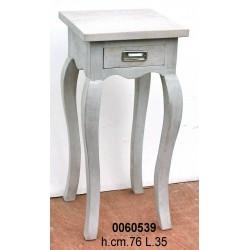 Tavolino 1 Cassetto Grigio Cm.76Nr.