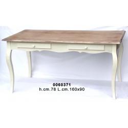 Tavolo Bianco/Noce Kh7489 160X90X78