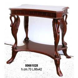 Tavolino Legno 4 Cigni Cm. 66X42 H. 70