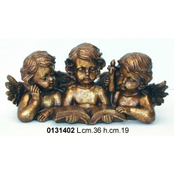 Gruppo 3 Angeli C/Libro 77394 38X19
