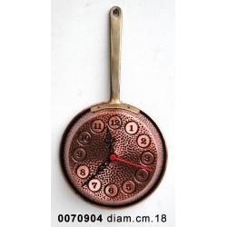Orologio Padella Ii Cm.18 1M Martellata