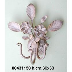 Appendino Bouquet 3 P. H.34 Bianco/Oro