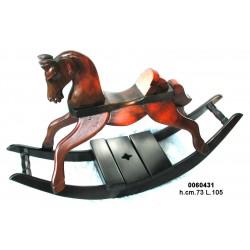 Cavallo A Dondolo Legno