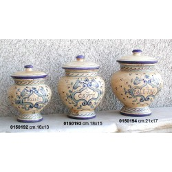Barattolo Ceramica Panc. I