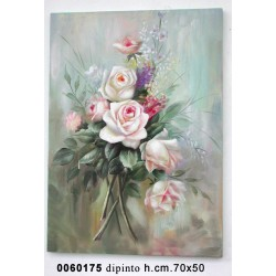 Dipinto Rose Mv09002 Cm 50*70