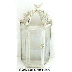 Mezza Lanterna Da Muro Crema 100825Hd