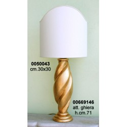 Base Lampada Legno Tl5 Elettr C/Arc.****Nr.