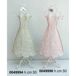 Manichino Ferro Bianco H Cm 49.5 Zh09B187