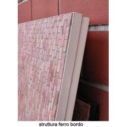 Obelisco Vetro Nero Cm.54X25