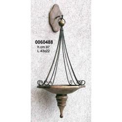 Applique P/Candela Legno/Ferronr. Cm.97 Gipb-1022