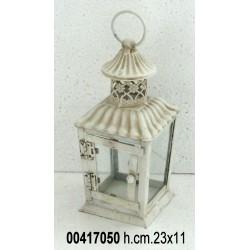 Lanterna H.Cm 23,00 Crema 100526Hd
