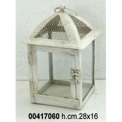 Lanterna Cm 28 /16 Crema 100590H